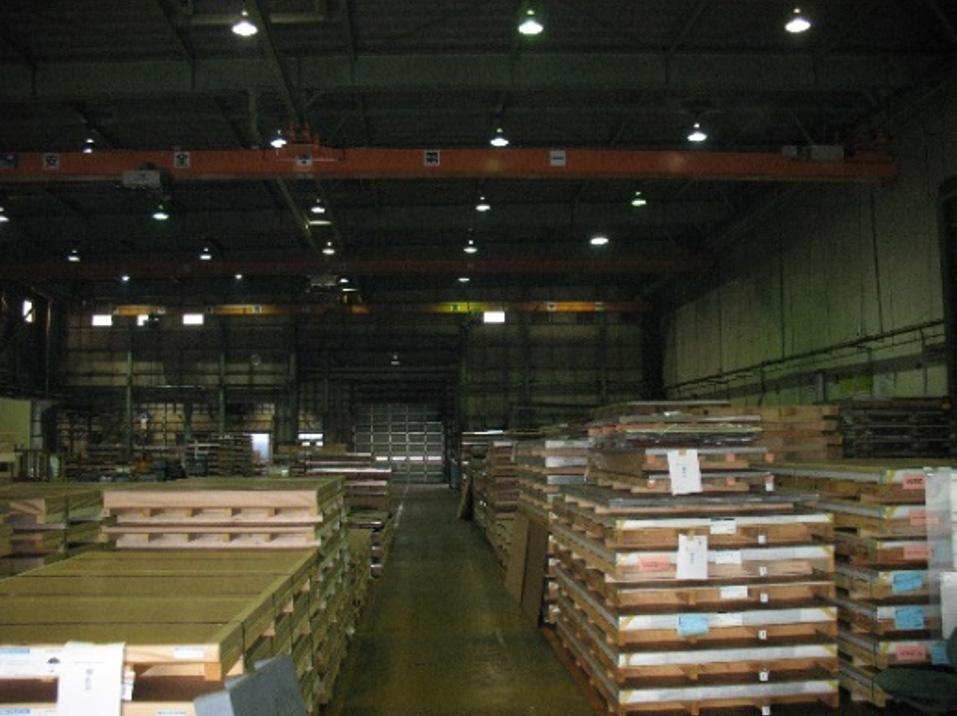 アルミ工場の写真